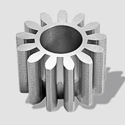 Zahnrad für Volumenstrom-Messgerät (in ungehärteter und gefräster Ausführung)